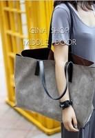 2013 women's handbag ol fashion big bag one shoulder handbag picture package