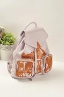 The appendtiff portable backpack bag vintage