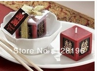4.5*4.5*4.5cm Free shipping Chinese design candle for romantic Valentine's Day Candle