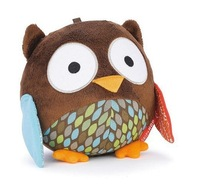SKP baby soft Stuffed sounding toy Chime Ball - owl