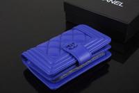 2013 fashion small sheepskin plaid short design zipper genuine leather folder women's wallet day clutch