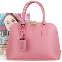 P p small 2013 fashion candy color bag cross cowhide shell bag 0838 0837