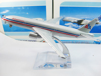 Free Shipping!American airlines B777-200 airplane model,16cm metal AIRLINES PLANE MODEL,airbus prototype machine,Christmas gift