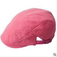 Free shipping spring, summer, autumn and winter contracted beret restoring ancient ways men and women casual cotton caps