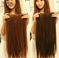 25'', 4 colors, 20pcs/lot, synthetic fiber Wigs, clip in Hair Extensions, wholesale price, SP-075