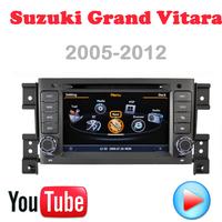 Car DVD Suzuki Grand Vitara GPS Car PC Multimedia 3G wifi Navigation DVR HD S100 touch video Factory Price Free Map card