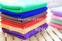 2000pcs 30*70cm Microfiber Cloth Microfibre Towel Cleaning Fabric Vehicle Detailing Polishing Cloths Steak-free towels