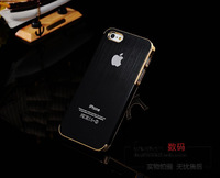 New Arrival Hard Aluminum Brush Metal Case For iphone 5g iphone5,Matte Cases,Luxury Cover