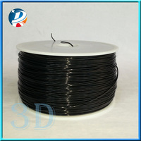 1.75mm 3.0mm abs 3d printer consumables black 1kg plate abs filament supplies