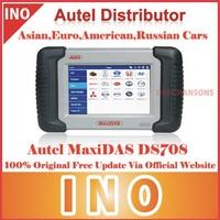 2014 Original Autel Maxidas DS708 Universal Diagnostic Scanner Multi Language Freeshipping