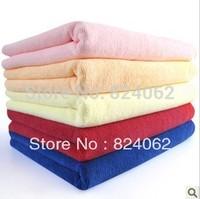 70*140cm Pet Cleaning Absorbent Streak-free Lint-free Microfiber Cleaning ClothMicrofiber Towel 50pcs/lot  towels