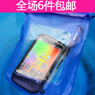 Mobile phone waterproof camera bag waterproof battery bag credential pocket submersible sets 6599