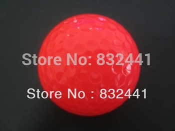 golf ball 2 piece ball for professional players buck package 3dozen per lot PINK BALLS FREE SHIPPING