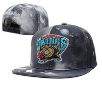 Newest silvery grey Galaxy star sky snapback caps men & women's basketball hats freeshipping!