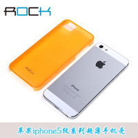 Rock  for apple   iphone5 phone case  for apple   5 mobile phone iphone5 protective case cell phone case ultra-thin