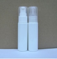 30ml Plastic White cosmetic bottle, Airless pump bottle, Empty lotion container packaging