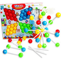 Family Maximum number Variety inserted beads Educational Toys Splicing blocks Toy