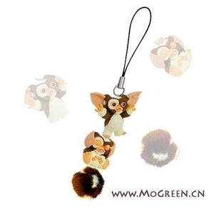Gremlins plush doll green evolution dolls mobile phone chain pendant(China (Mainland))