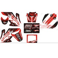 Crf50 off-road motorcycle 3m coincidentally applique waterproof sunscreen car stickers