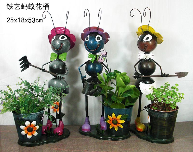 Ants Garden Decorations Metal Planters Garden Decor Wholesaler