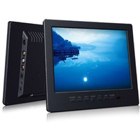 Tuwei L8008 8 inch lcd car monitor display av vga bnc input  Free shipping
