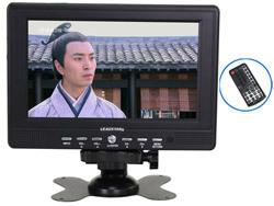 High quality Ld-768 7 inch lcd car tv av security monitor car monitor Free shipping(China (Mainland))