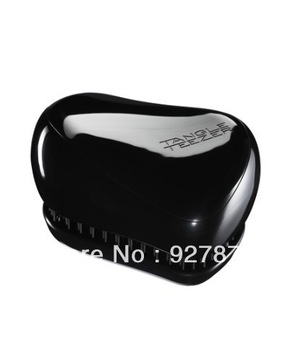 Free Shipping Good Quality Tangle Teezer Instant Detangling Hairbrush Fashion Hair Styling Comb Compact Styler Rock Star Black