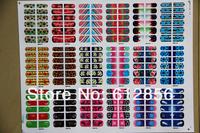 18 styles nail art wraps sticker foils cover decals decoration nail salon effect Polish strips