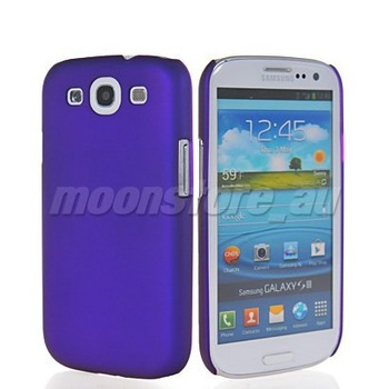 FREESHIPPING HARD RUBBER COATING BACK CASE COVER FOR SAMSUNG GALAXY S3 Slll I9300 MOBILE PHONE CASE COVER WOMEN WATCH DRESS BAGS