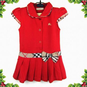 Free Shipping 2014 Cheap Fashion Girl 2014 New arrival London design 100% cotton girl's dress plaid children dress kids dress