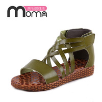 Free shipping 2013 child candy color velcro soft open toe cross-strap princess female child sandals