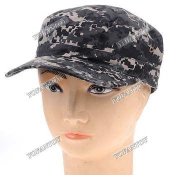 Free Shipping Camouflage Hat Military Army Outdoor Cap Sport Hat Size L (60cm Circumference)