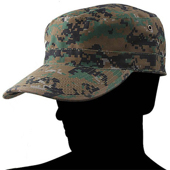 Free Shipping Camouflage Hat Military Army Sport Hat Outdoor Cap Size M (59cm Circumference)
