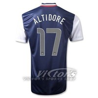 High qualityNew United states USA 12-13 Away soccer Jersey shirt ,top thailand quality free shipping ALTIDORE 17