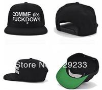 Free shipping 2013 New COMME DES FUCKDOWN Leopard Punk cheap cap hats for men women snapback hats baseball cap hip hop hat caps