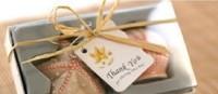 Wholesale Free Shipping 20Pieces=10Sets/Lot  Ceramic Sea Shells Salt & Pepper Shaker Wedding Favor Gift