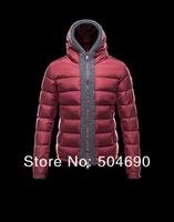 Men Down Coat Brand Winter Jacket Brand Hooded Warm Men Ski parka jacket Red Blue Special Luster Men's Brand Down Jacket