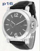 16# black face watch or 22# white face men gift watches