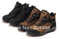 2012 Fashion Men's high-top cowhide leather waterproof cold proof Fashion Leisure outdoor climbing shoes hiker / mountaineering