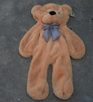Wholesale Factory price 2013 Valentine's Day Gift SIZE 80cm skins empty 3COLOR Teddy bear plush toys coat Hot