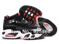 Free Shipping Ken Griffey 1 Men's Basketball Sport Footwear Sneaker Trainers Shoes - Black / White / Red
