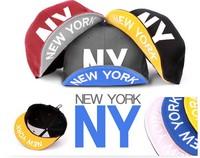 New NY hip-hop fashion cap flat-brimmed hat bboy baseball cap hat hiphop free shipping