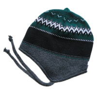 Fashion hot-selling acrylic knitted hat male women's yarn ear protector cap outdoor winter knitted hat