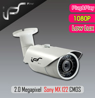 IPS  Bullet IP Cameras include 4/6/8 Fixed Lens Advanced 1/2.5 1080P Sony MX122 CMOS H.264/MJPEG Waterproof (IPS-HS1811L)