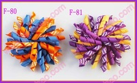 "free shipping 310pcs 4"" korker hair bows (SEW ones) korker hair clips boutique corker hair clips"