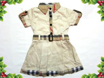 Free Shipping 2014 Cheap Promotion Girl Belt Dress Retail 2014 new girl summer dress kids fashion dress summer brand for girls
