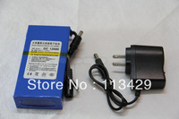 Free shipping Wholesale Brand New DC 12V 6800mAh Super Rechargeable Lithium-ion Battery Pack For CCTV