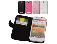 4Color Original Doormoon leather case for HTC One SV T528t ( One ST ) ,100%Real cowhide for cover,Free shipping