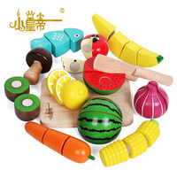 Large bottled fruit sooktops child puzzle qieqie see wooden toys  kids toys