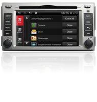 A8 Chipset,S100,3G,WIFI, Hyundai Santafe 7'' HD Car DVD Player,AutoRadio,GPS,Navi,Multimedia,Radio,Ipod,Free shipping+Free map